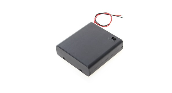 Battery holder 4AA switch chiosz robots