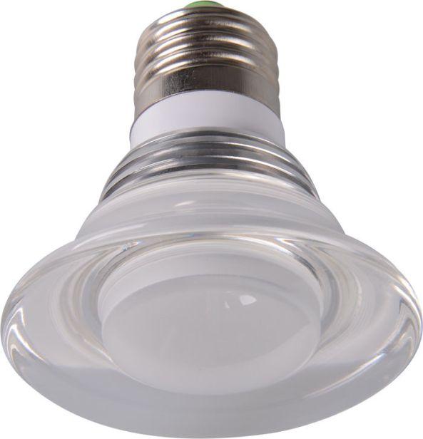 Lamp led RGB IR control E27 3W chiosz robots 3