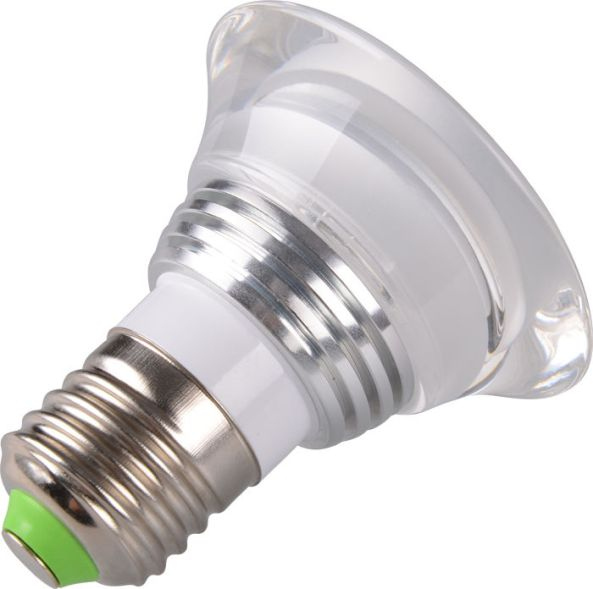 Lamp led RGB IR control E27 3W chiosz robots 4