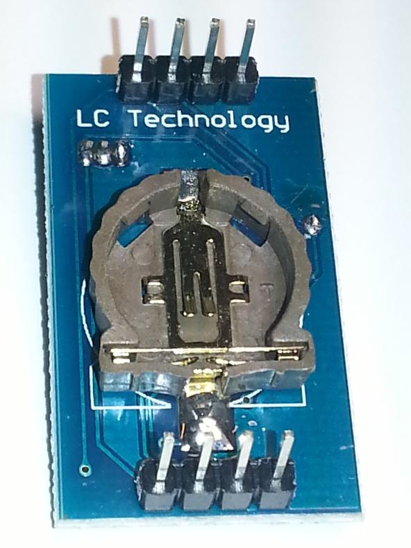 DS1307 RTC temp CR1220 chiosz robots 2