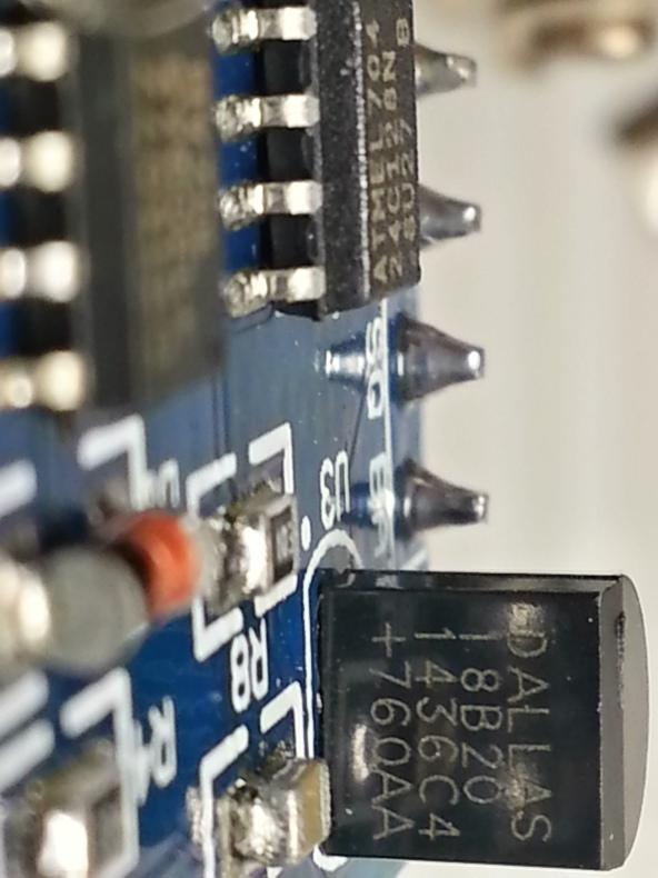 DS1307 RTC temp CR1220 chiosz robots