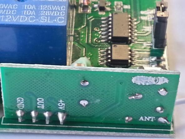 Relay 4 rf 315 wireless chiosz robots 5