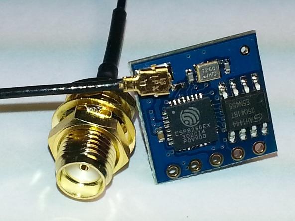 wifi antenna ESP8266 chiosz robots 8