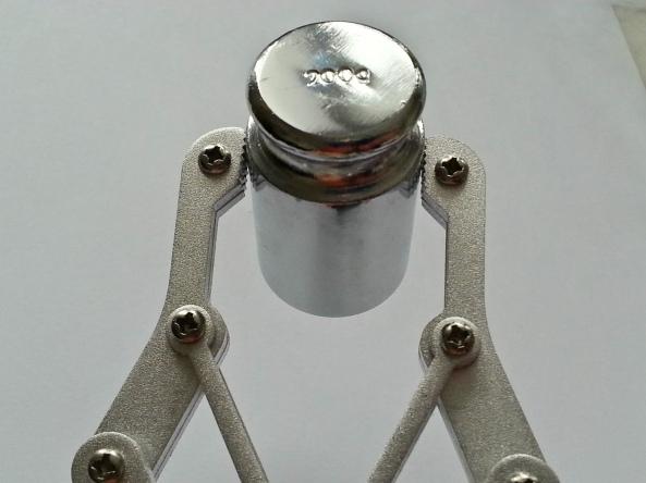 Claw 2servo MG995 chiosz robots 10