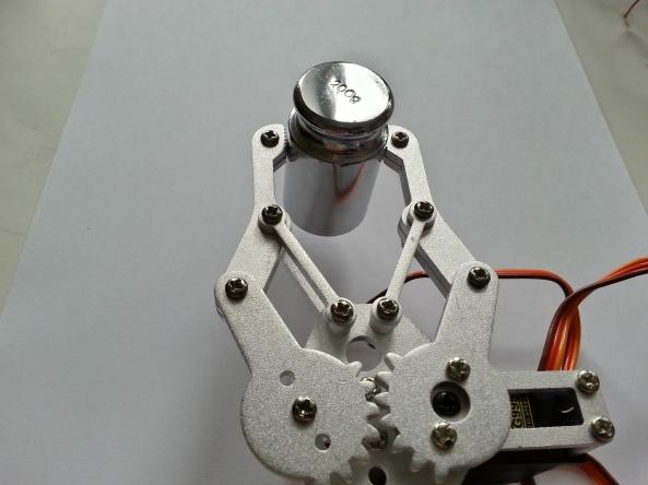 Claw 2servo MG995 chiosz robots 11