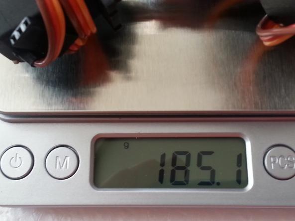 Claw 2servo MG995 chiosz robots 12