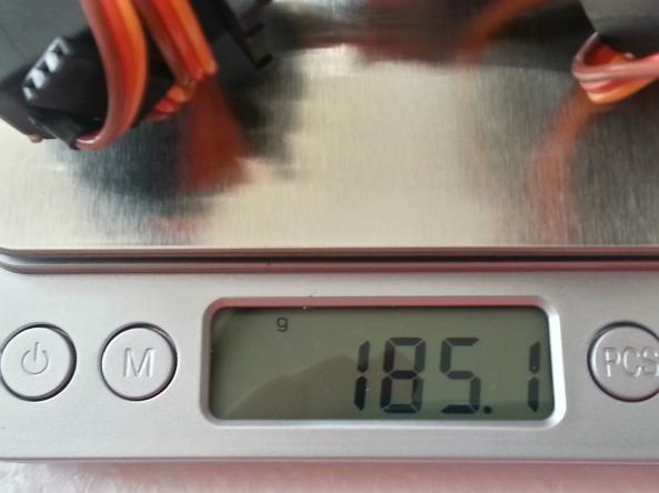 Claw 2servo MG995 chiosz robots 13
