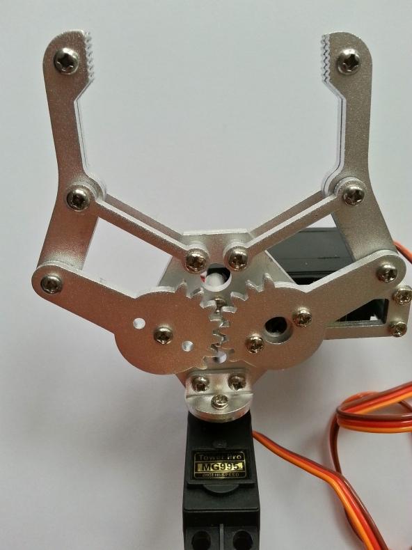 Claw 2servo MG995 chiosz robots 6