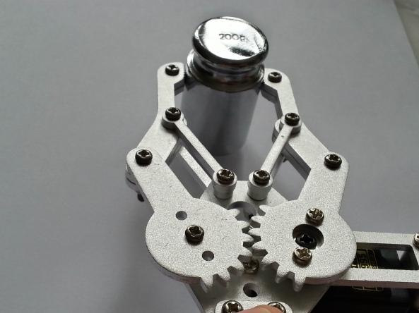 Claw 2servo MG995 chiosz robots 7