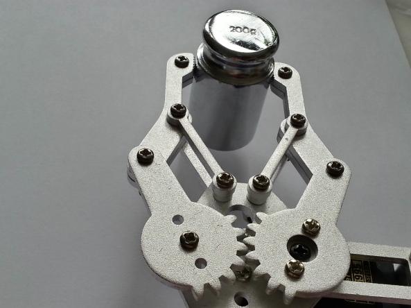 Claw 2servo MG995 chiosz robots 8