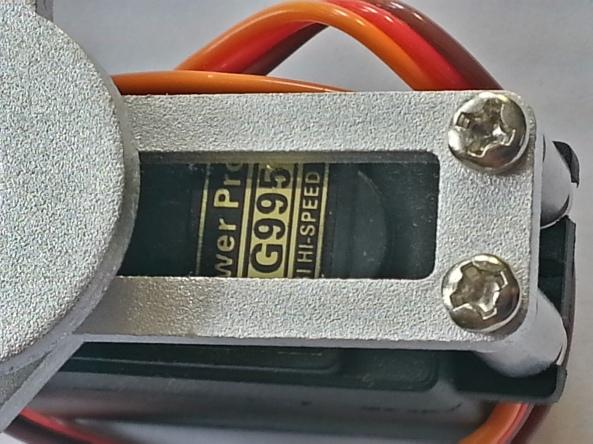 Claw 2servo MG995 chiosz robots