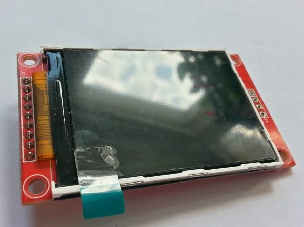 LCD QVGA 2,2 chiosz robots 11