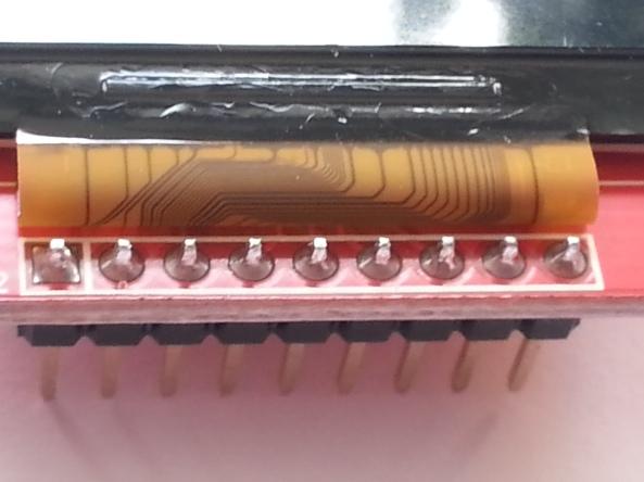 LCD QVGA 2,2 chiosz robots 6