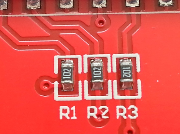 LCD QVGA 2,2 chiosz robots 8
