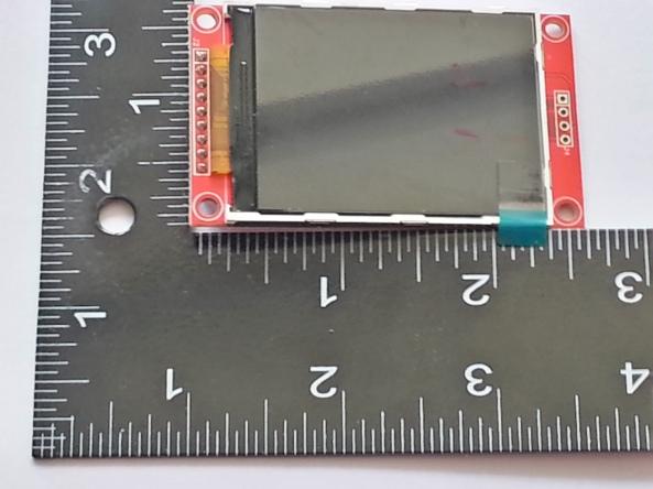 LCD QVGA 2,2 chiosz robots 9