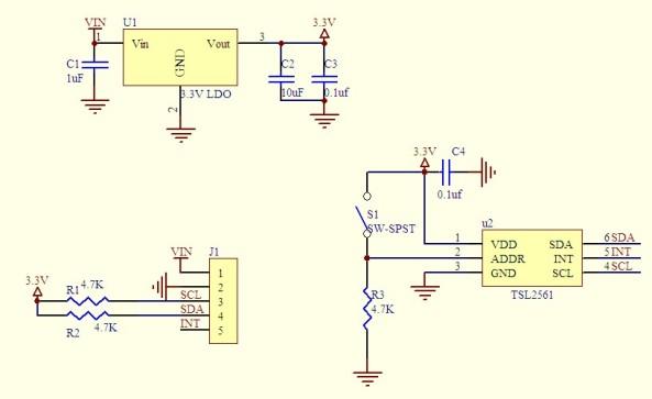 Light sensor TSL2561 chiosz robots (1)