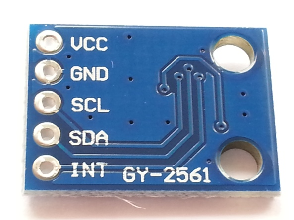 Light sensor TSL2561 chiosz robots (2)